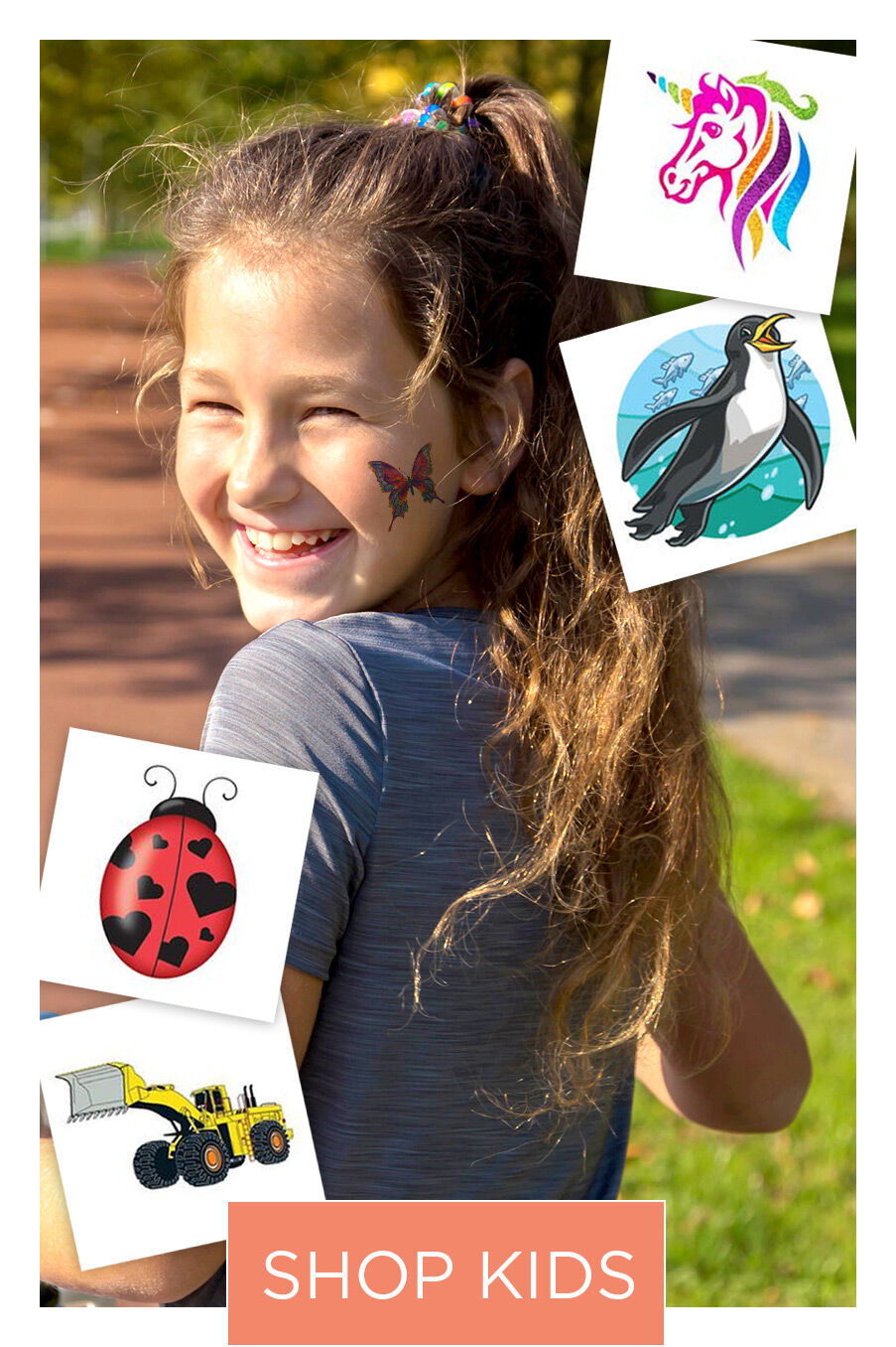 Shop Kids Temporary Tattoos