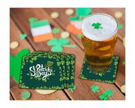 St. Patrick's Day Coaster Gift Box