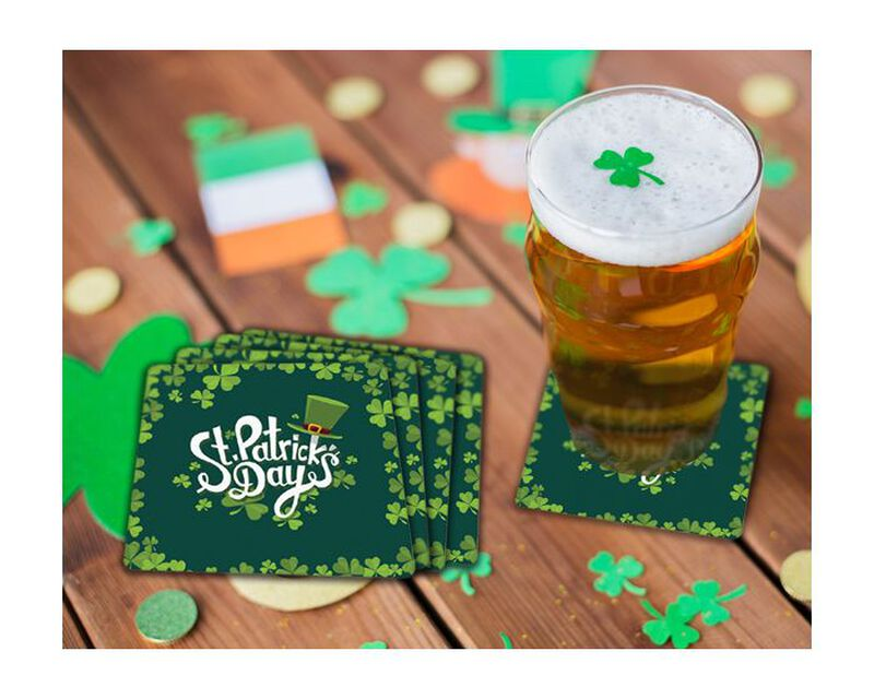 St. Patrick's Day Coaster Gift Box image number null