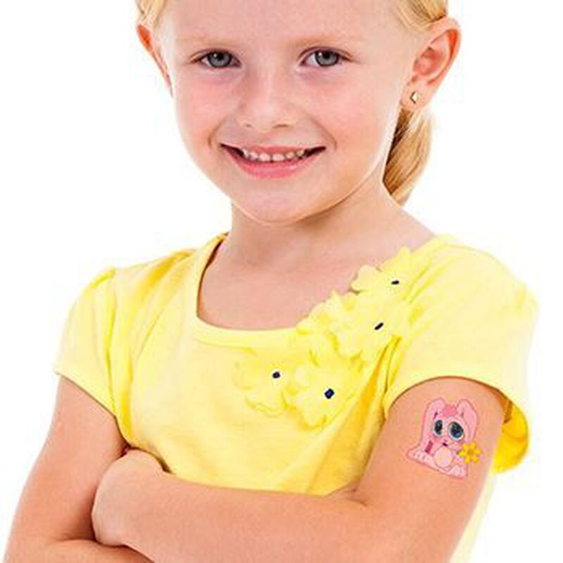 Snuggle Buddy Bunny Temporary Tattoo image number null