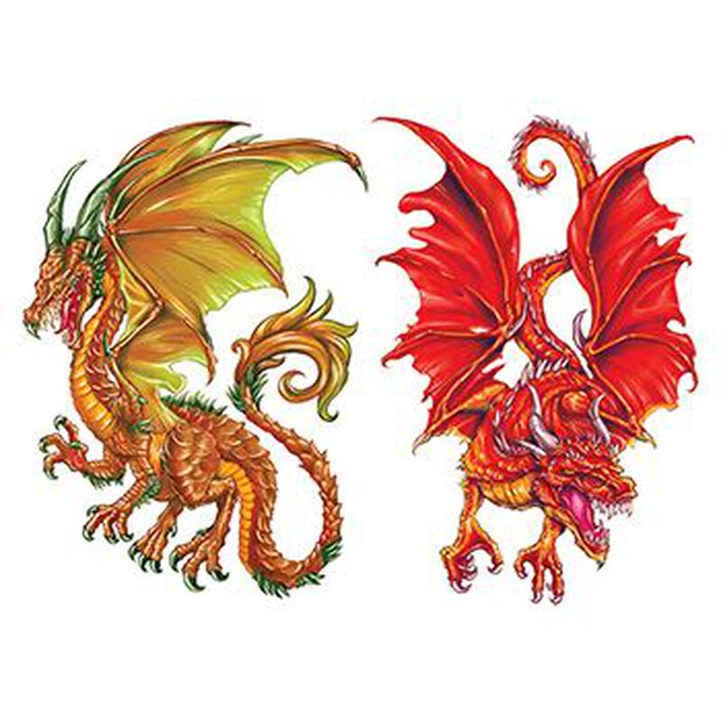 Ormarr Dragon Temporary Tattoos image number null