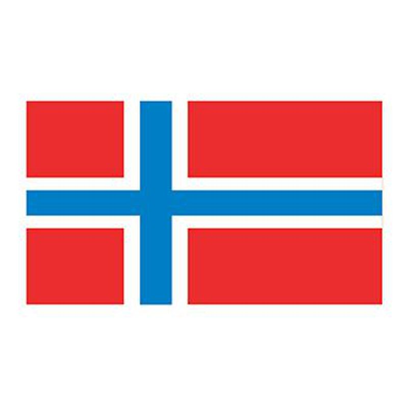 Norway Flag Temporary Tattoo image number null