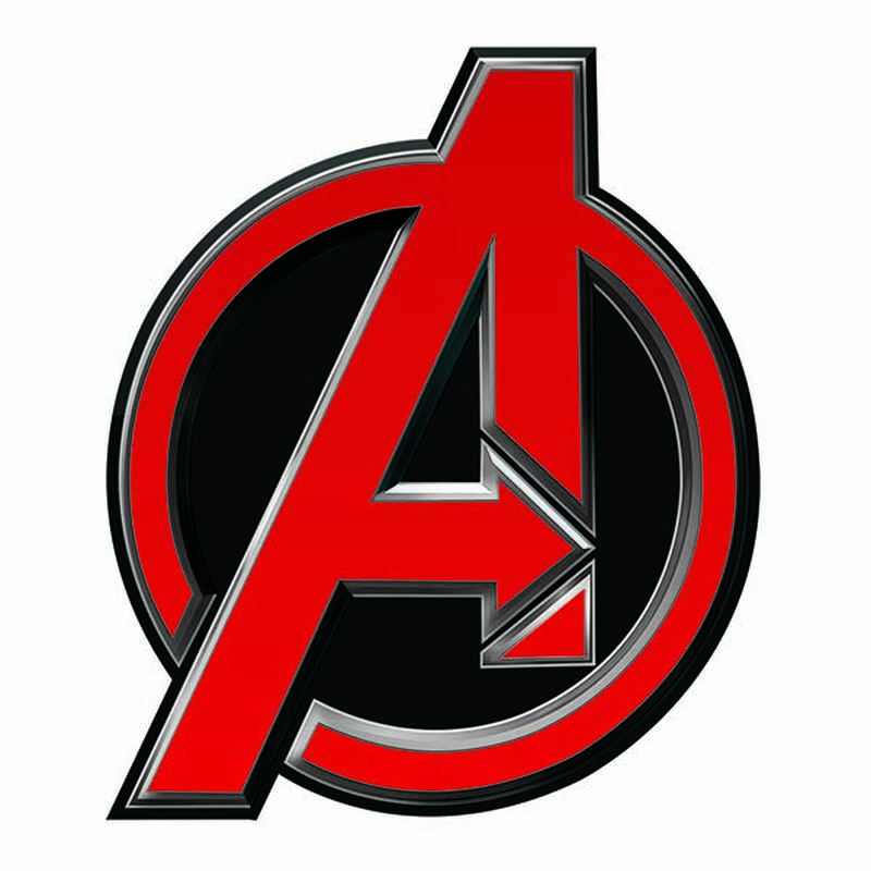 Avengers Logo Temporary Tattoo image number null