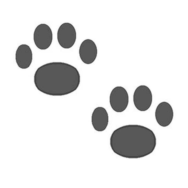 Two Paws Temporary Tattoo image number null