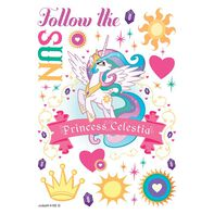 Princess Celestia Temporary Tattoo