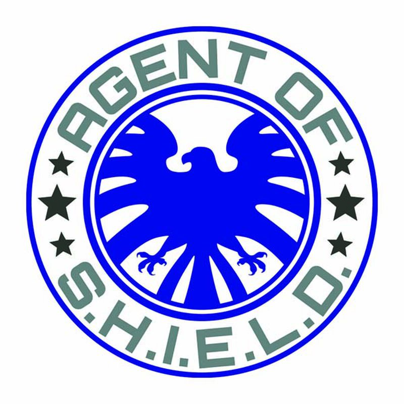 Avengers Agent of S.H.I.E.L.D Temporary Tattoo image number null