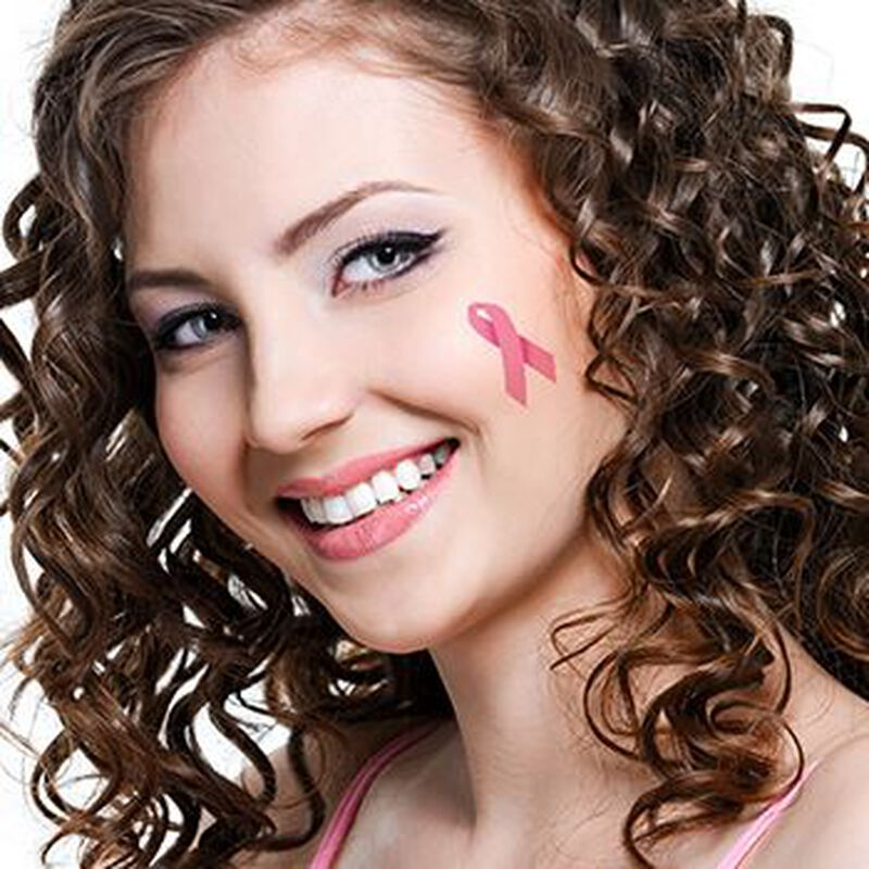 Pink Awareness Temporary Tattoo image number null