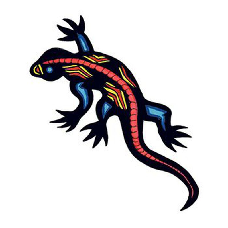 Gecko Temporary Tattoo image number null
