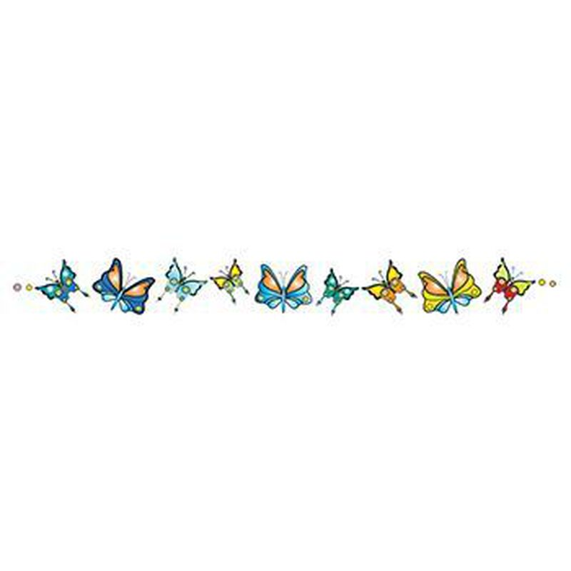 Band of Butterflies Temporary Tattoo image number null