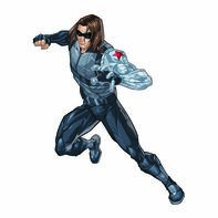Avengers Winter Soldier Temporary Tattoo
