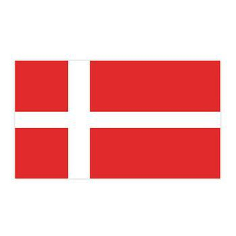Denmark Flag Temporary Tattoo image number null