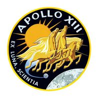 Apollo XIII Temporary Tattoo