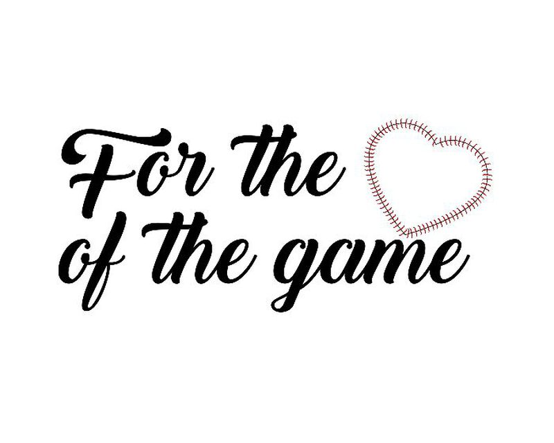 For the Love of the Game Temporary Tattoo image number null