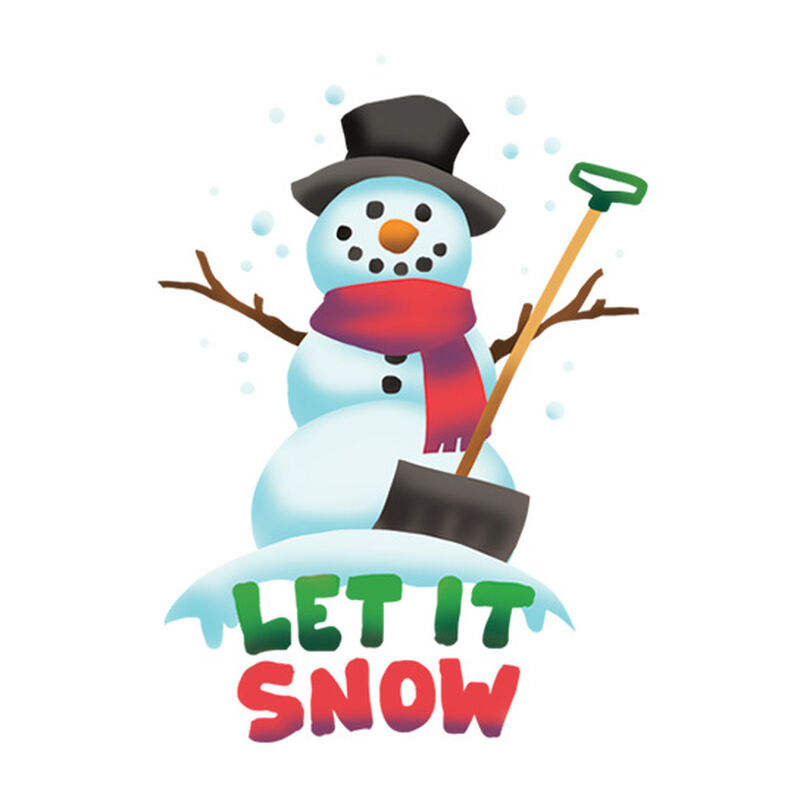 Let It Snow Temporary Tattoo image number null