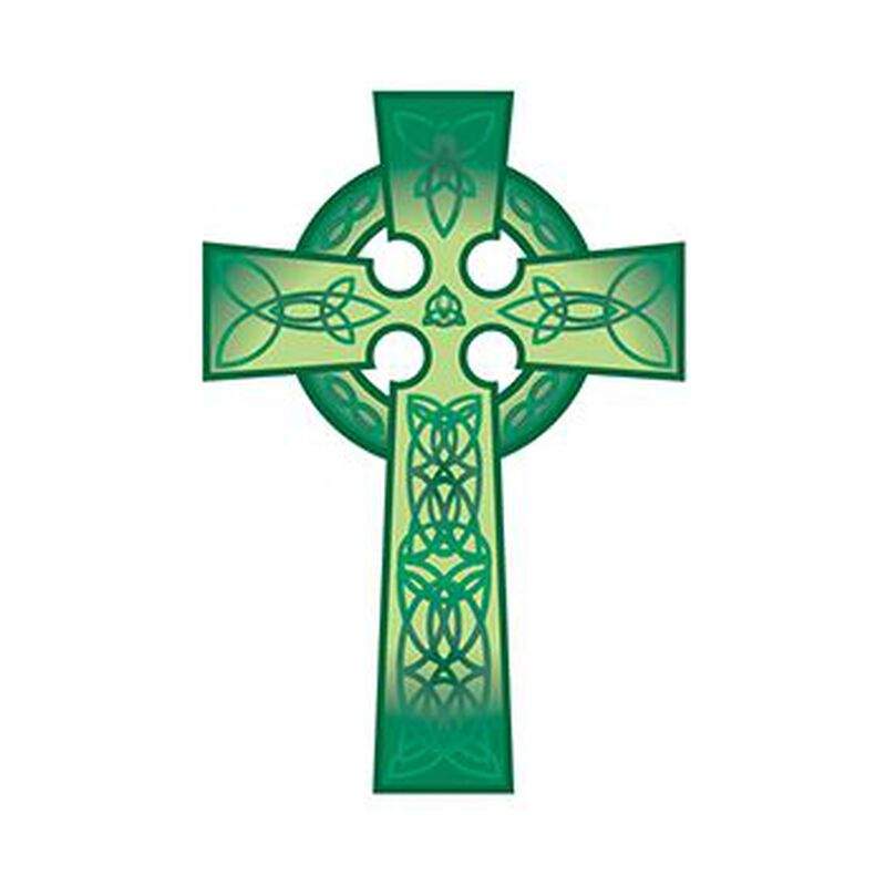 Celtic Cross Temporary Tattoo image number null