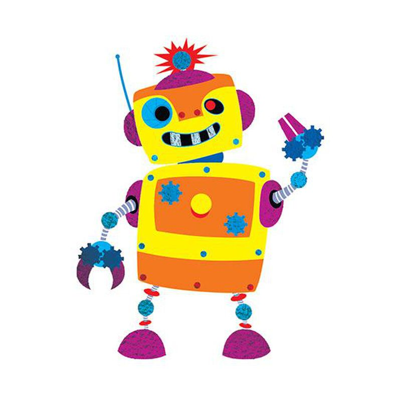 Randy the Robot Metallic Temporary Tattoo image number null