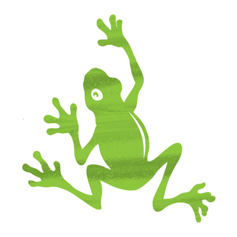 Metallic Frog Temporary Tattoo image number null