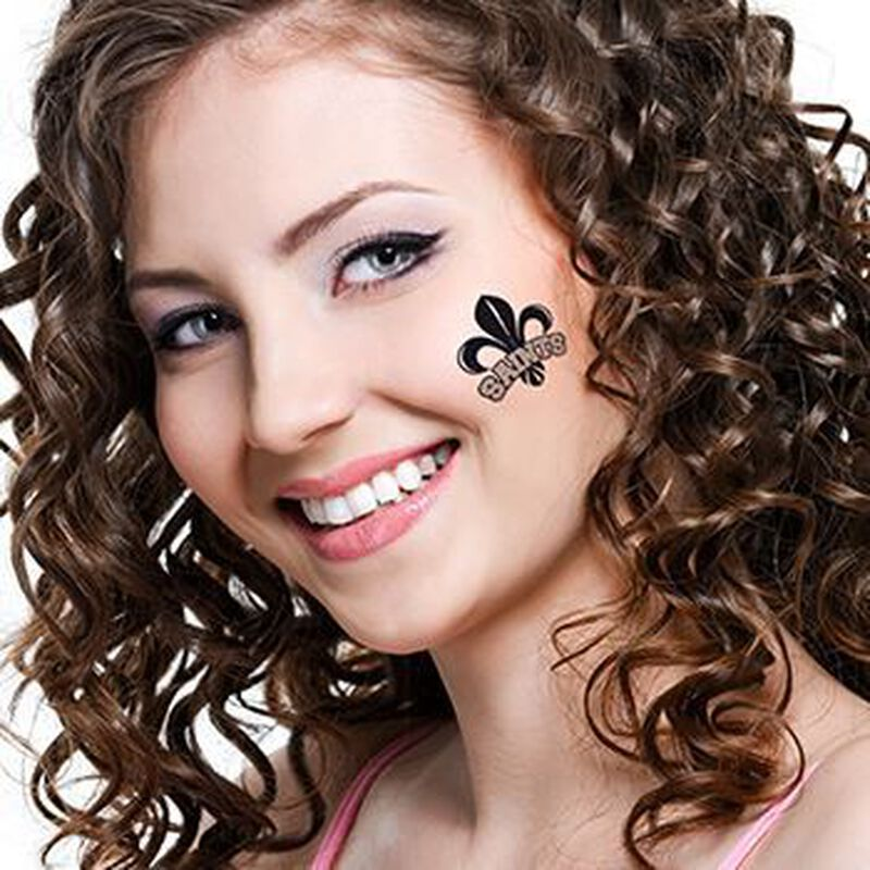 Saints Temporary Tattoo image number null
