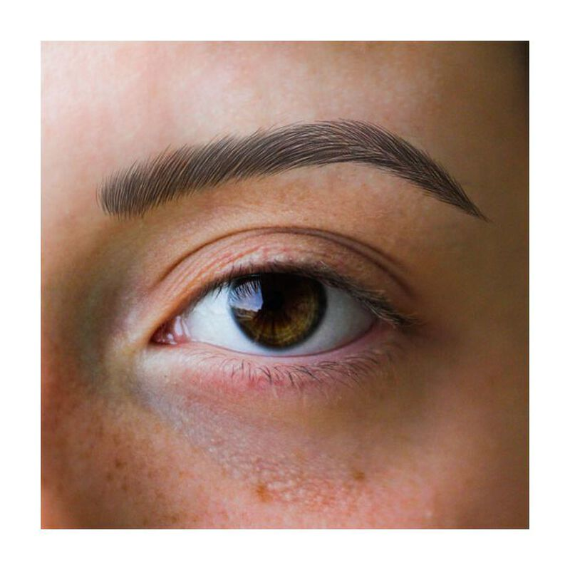 Women's Black Eyebrow Temporary Tattoos image number null