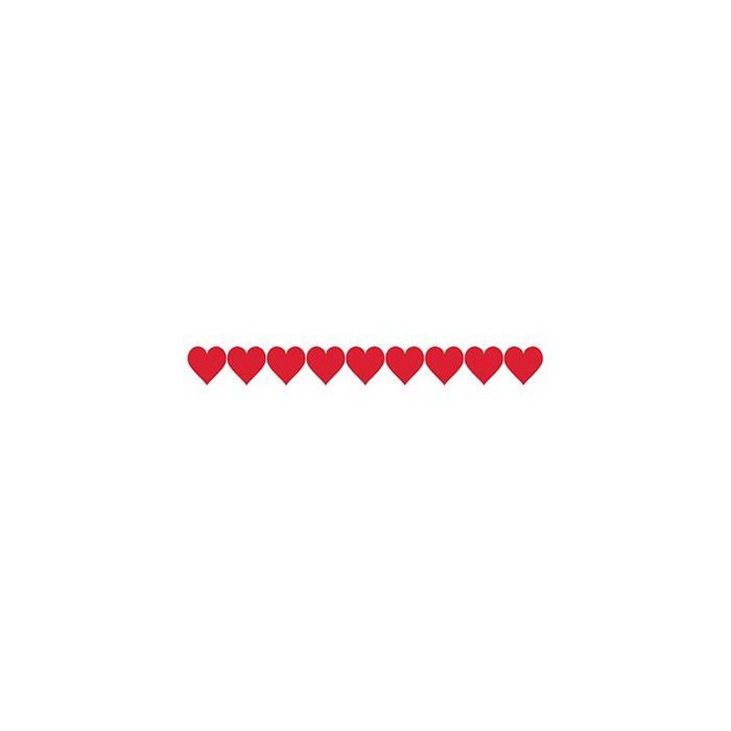 Hearts Armband Temporary Tattoo image number null
