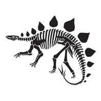 Stegosaurus Temporary Tattoo