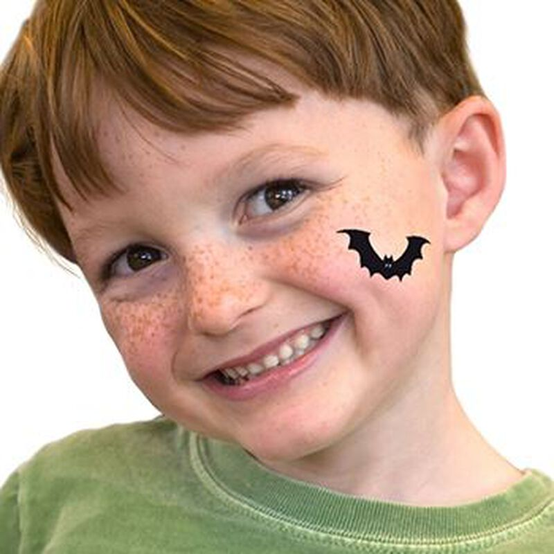 Flying Bat Temporary Tattoo image number null