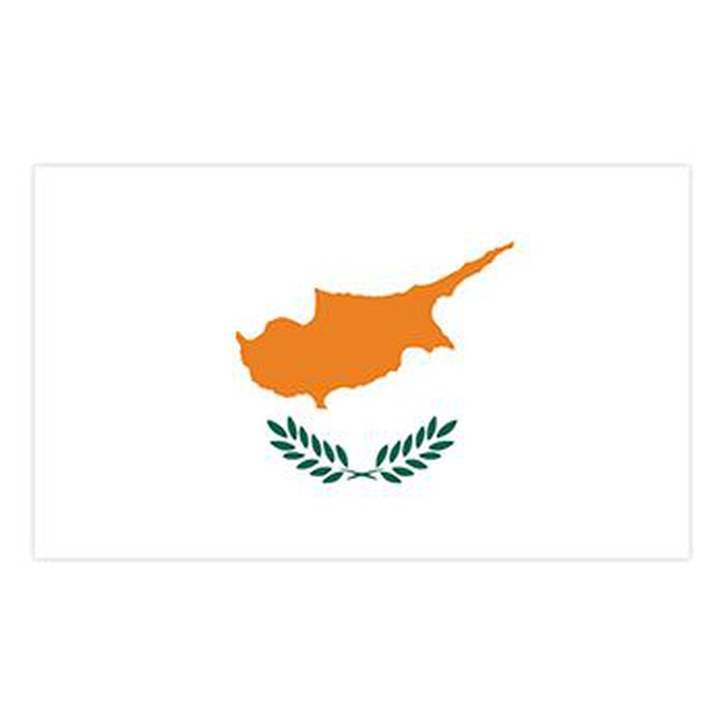 Cyprus Flag Temporary Tattoo image number null