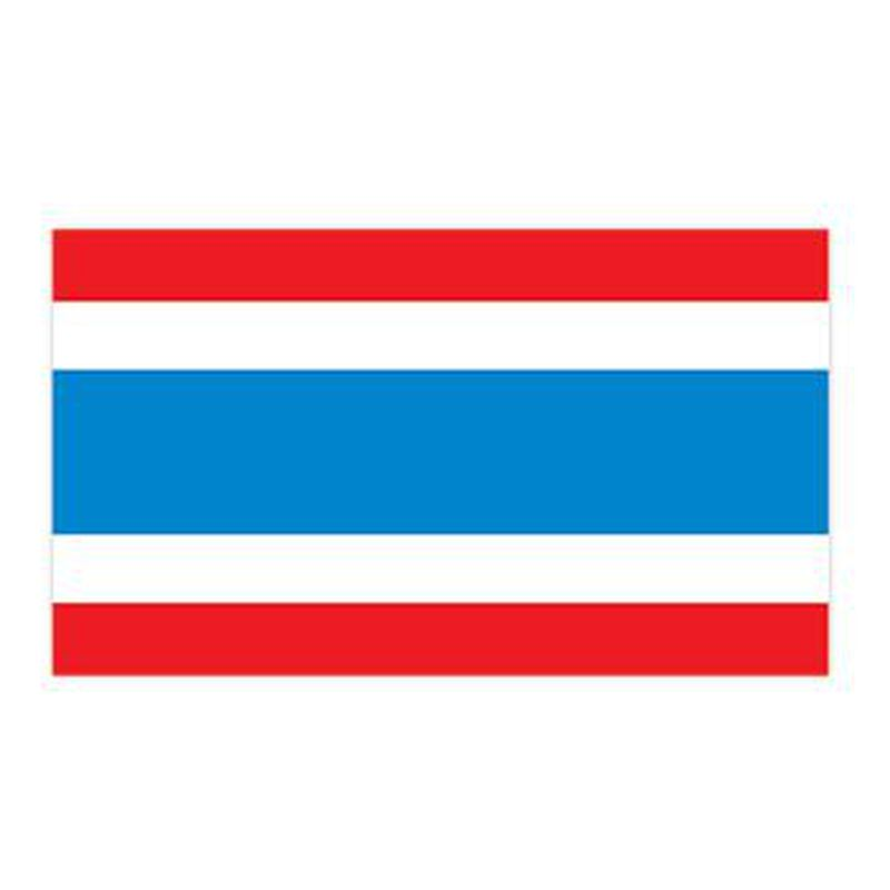 Thailand Flag Temporary Tattoo image number null