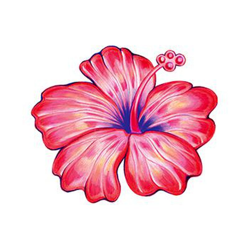 Hibiscus Temporary Tattoo image number null