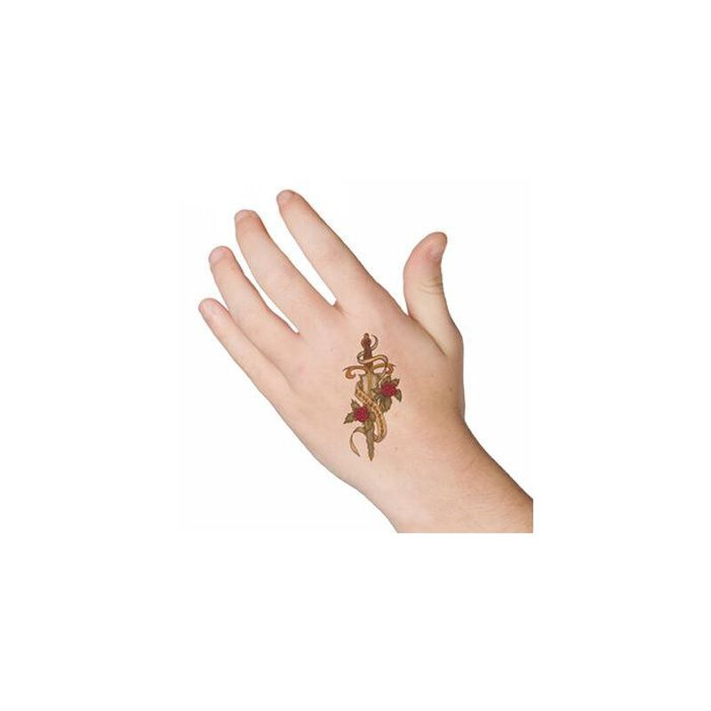 Dagger Temporary Tattoo image number null
