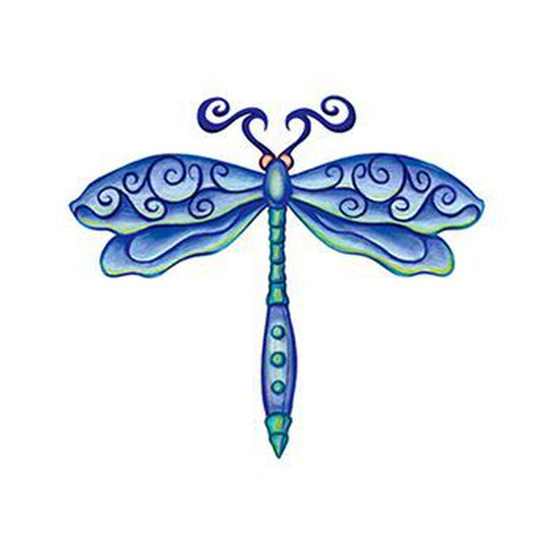 Dragonfly Temporary Tattoo image number null