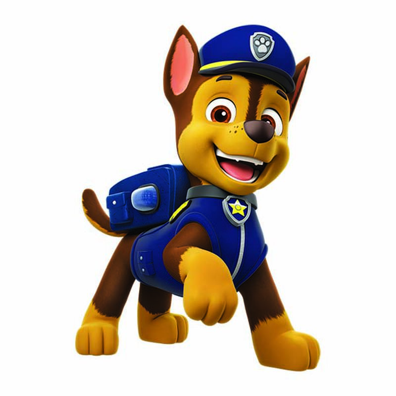 PAW Patrol Chase Temporary Tattoo image number null