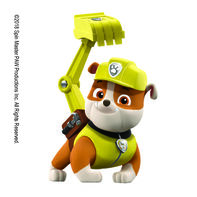 PAW Patrol Rubble in Action Temporary Tattoo