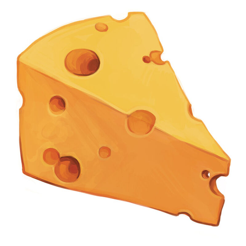Chunk O' Cheddar Temporary Tattoo image number null