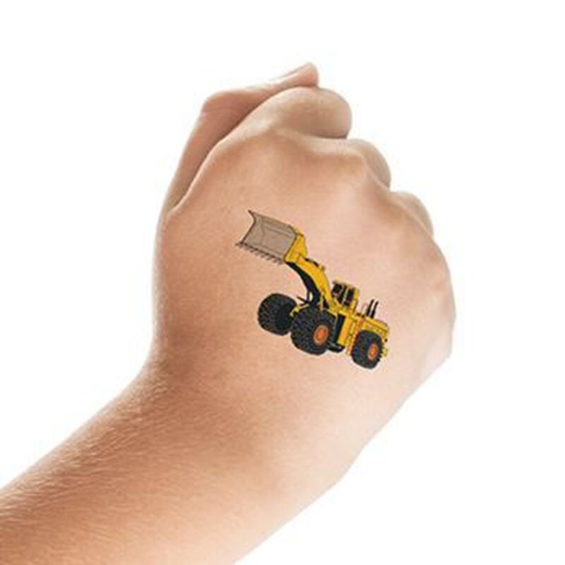 Bulldozer Temporary Tattoo image number null