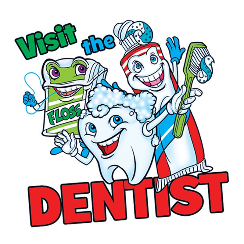 Visit The Dentist Temporary Tattoo image number null