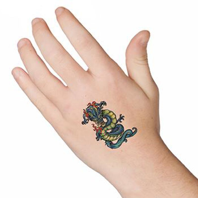 Chinese Dragon Temporary Tattoo image number null
