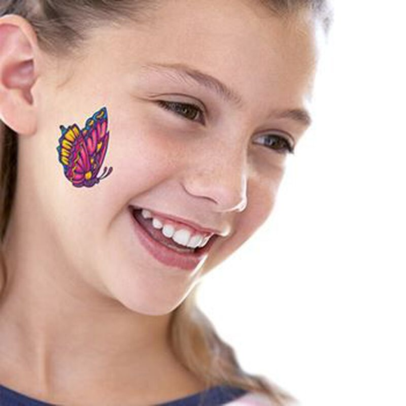 Beautiful Butterfly Temporary Tattoo image number null