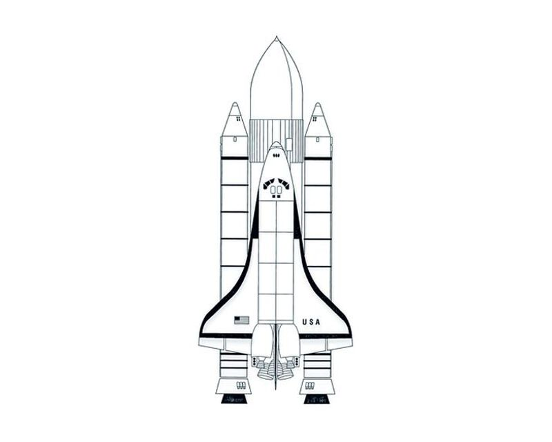 NASA Space Shuttle Sleeve Temporary Tattoo image number null