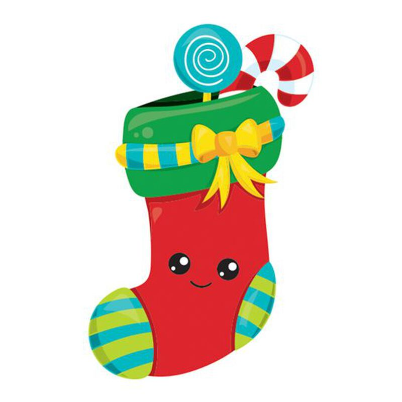 Jolly Stocking Temporary Tattoo image number null