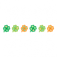 Four Leaf Clover Bracelet Temporary Tattoo