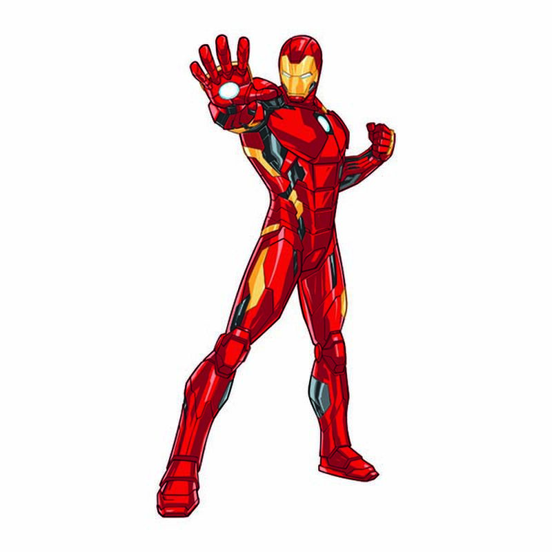 Avengers Iron Man Temporary Tattoo image number null