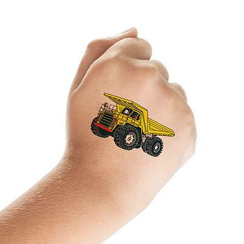 Dump Truck Temporary Tattoo image number null