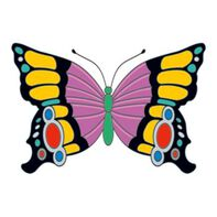 Elegant Butterfly Insect Temporary Tattoo