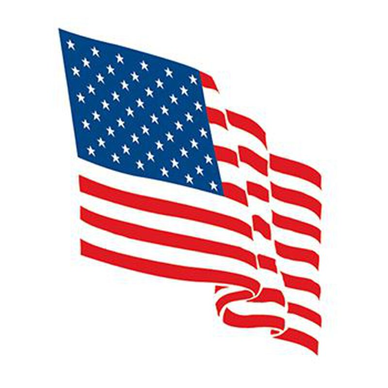 Wavy Flag Temporary Tattoo image number null
