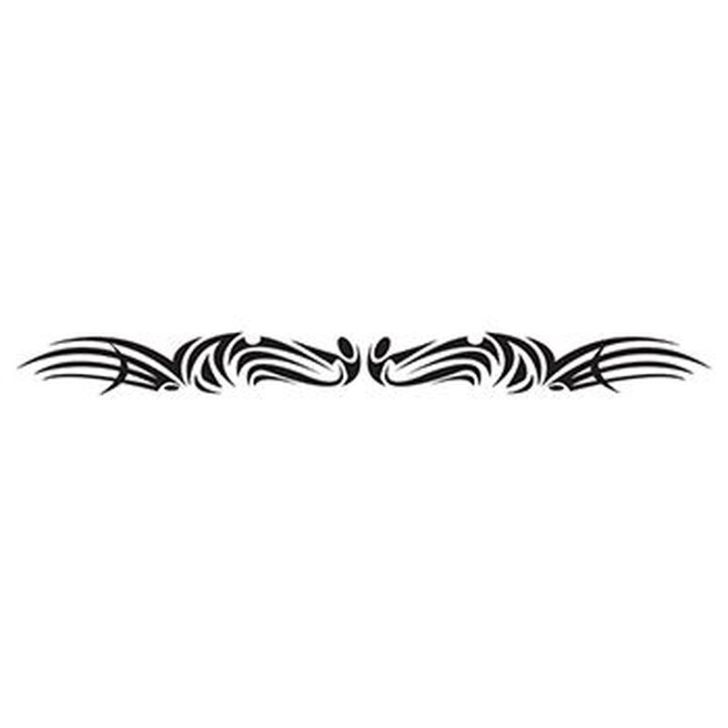 Tribal Armband Temporary Tattoo image number null