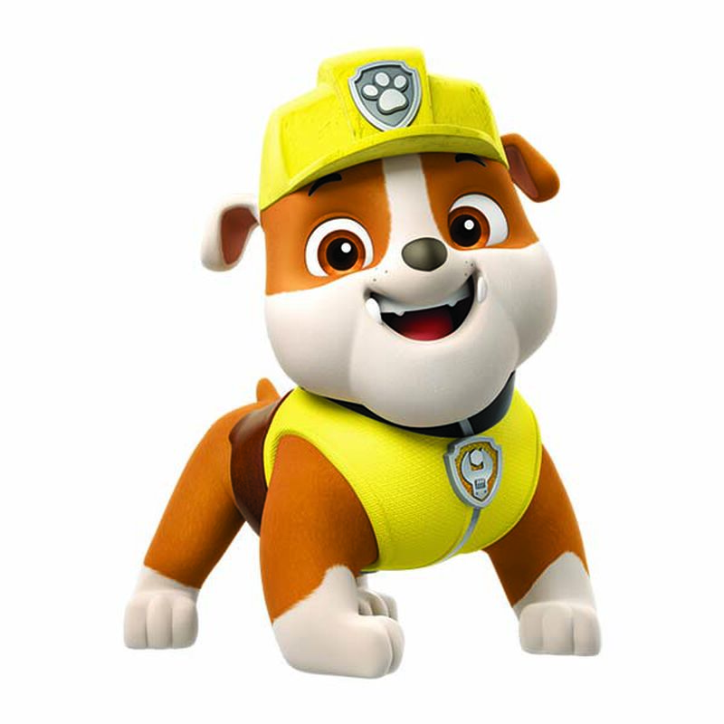 PAW Patrol Rubble Temporary Tattoo image number null