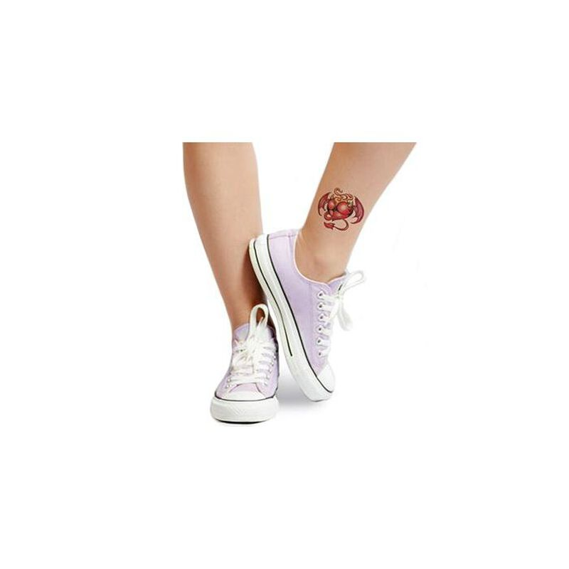 Devil Heart Temporary Tattoo image number null