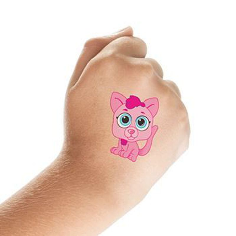 Adorable Cat Temporary Tattoo image number null