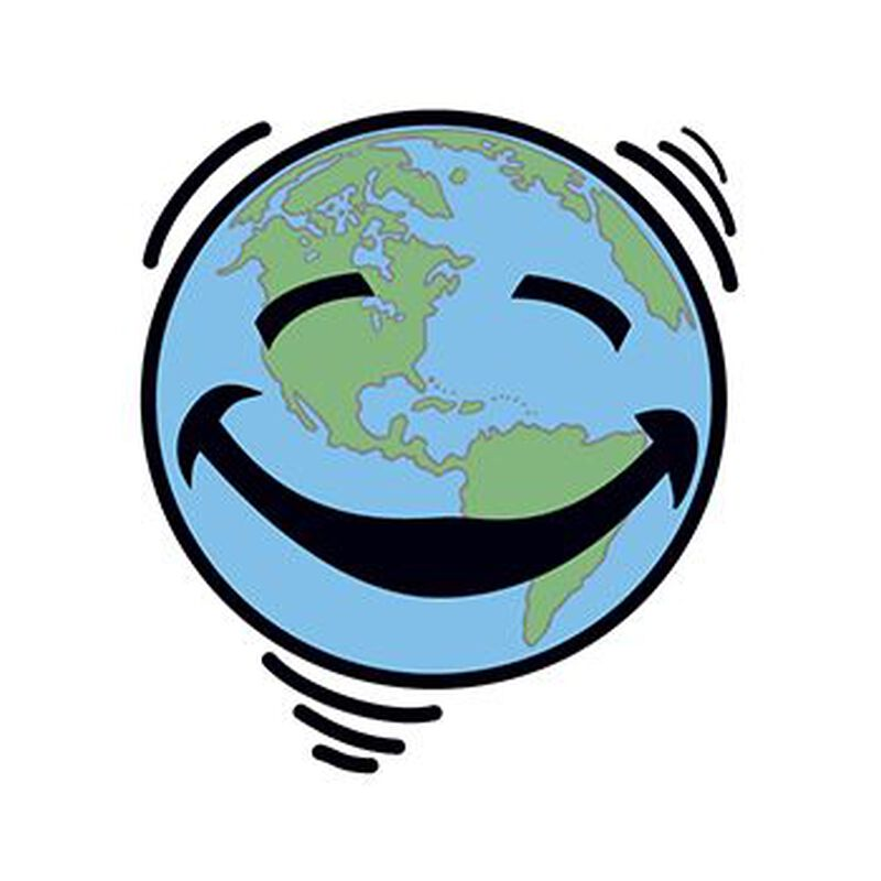 Happy Earth Temporary Tattoo image number null
